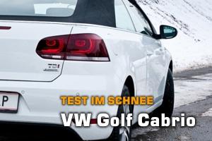 Golf Cabrio im Auto-Test