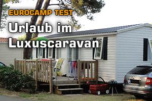 Caravan-Urlaub im Eurocamp