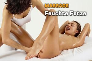 Massage mit feuchter Fotze