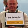 Snowden im Taxi zum Flughafen