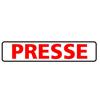 Presse-Schild