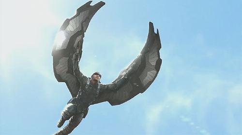 "The Falcon aus ""Captain America: The Winter Soldier"""