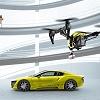 Rinspeed verläßt Alpen mit Drohne