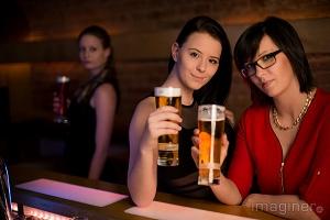 Cocktails und Fotos