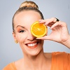 Orange Vitaminbombe