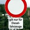 Fahrverbote und Umweltzonen Reloaded