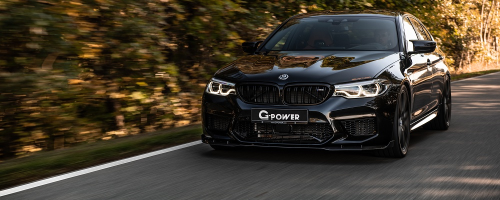 335 km/h im BMW M5