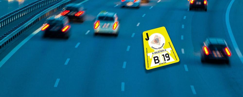 Gratis: Autobahn Vignette 2019 kostenlos