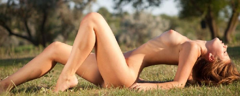 Natürliche Schönheit erotisch