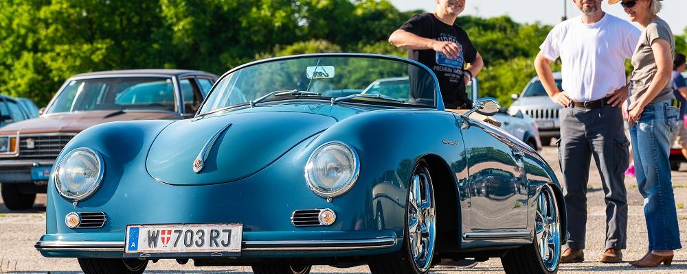 Classic Cars, Movie Stars im Mai