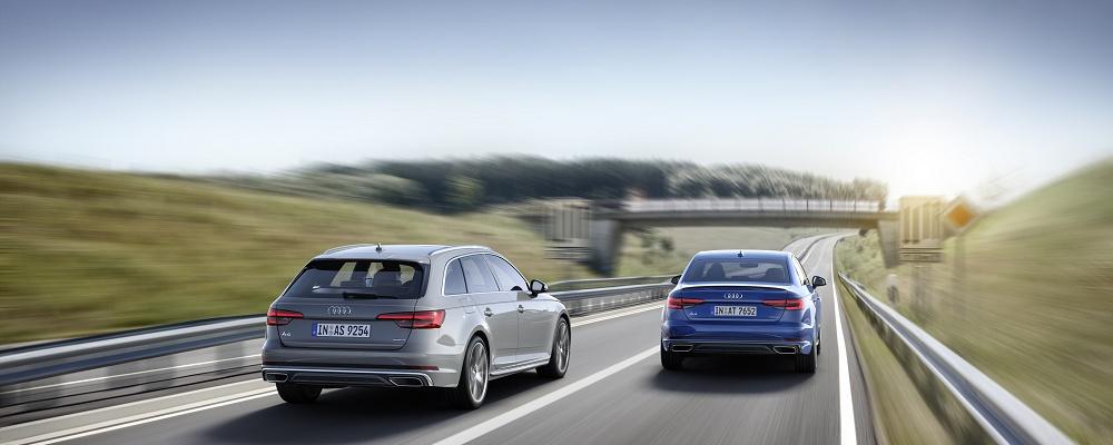 Audi A4 2019 gezeigt