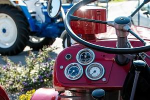 Oldtimer-Traktor
