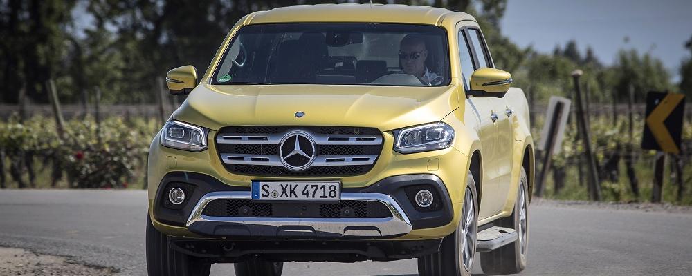 Mercedes-Benz X-Klasse im ersten Test