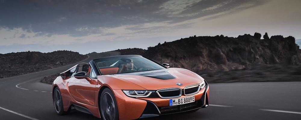BMW i8 als Cabrio