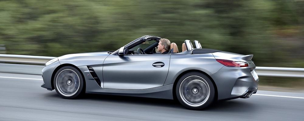 BMW Z4 2019 wird größer