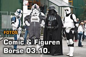 Fotos von der Comic & Figuren Börse