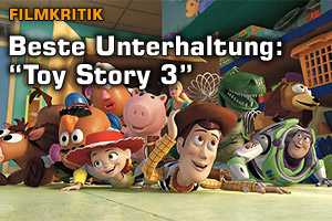 Filmkritik: Toy Story 3 ist Top!