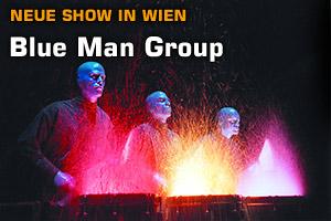 Blue Man Group mit  neuer Show in Wien