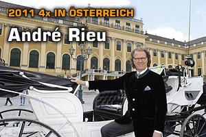 André Rieu 2011 auf Österreich-Tour