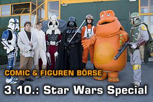 3.10.: Star Wars Fans auf der Comicbörse