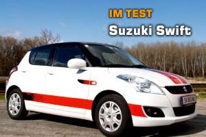 Test: Suzuki Swift