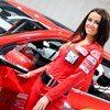 Messe-Girls der Autoshow 2012