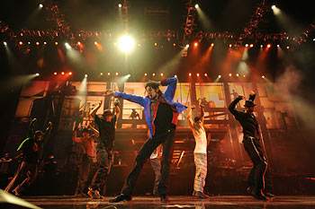 Michael Jackson in MICHAEL JACKSON THIS IS IT © 2009 Sony Pictures Releasing GmbH