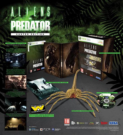 """Aliens vs Predator"" Hunter Edition Xbox 360"