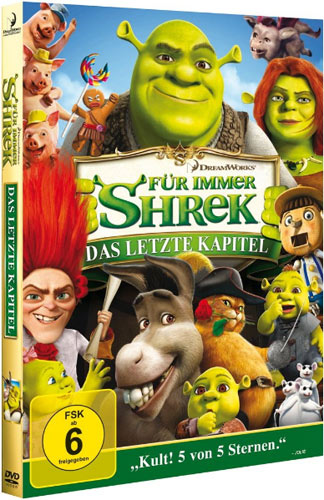 Shrek 4 DVD