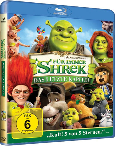 Shrek 4 Blu-ray