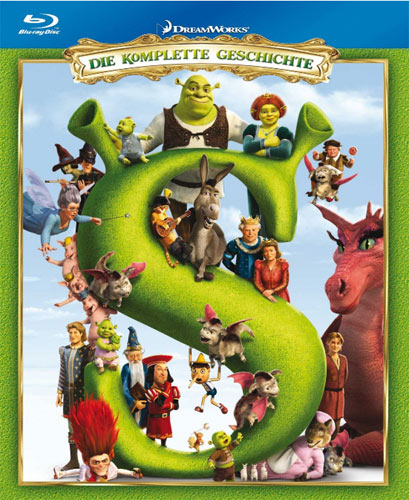Shrek 1-4 Blu-ray