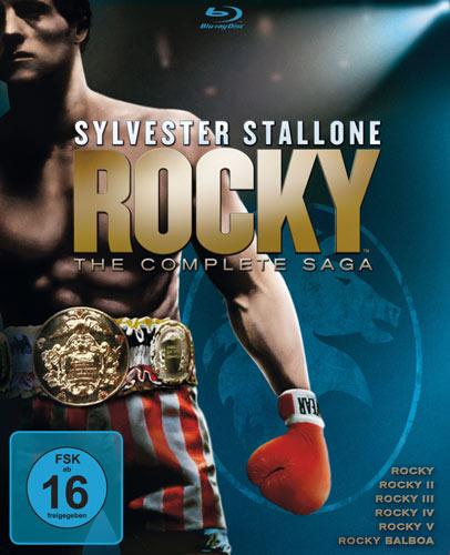 Rocky the complete Saga Blu-ray Box
