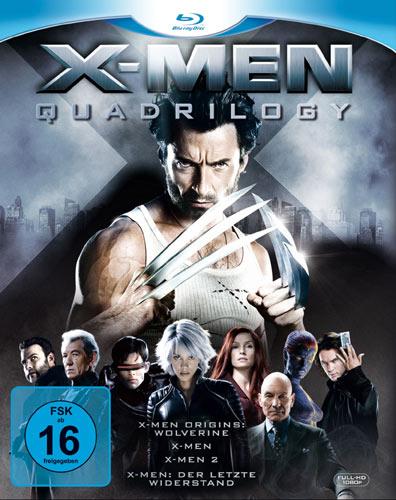 X-Men Quadrilogy Blu-ray Box-Set