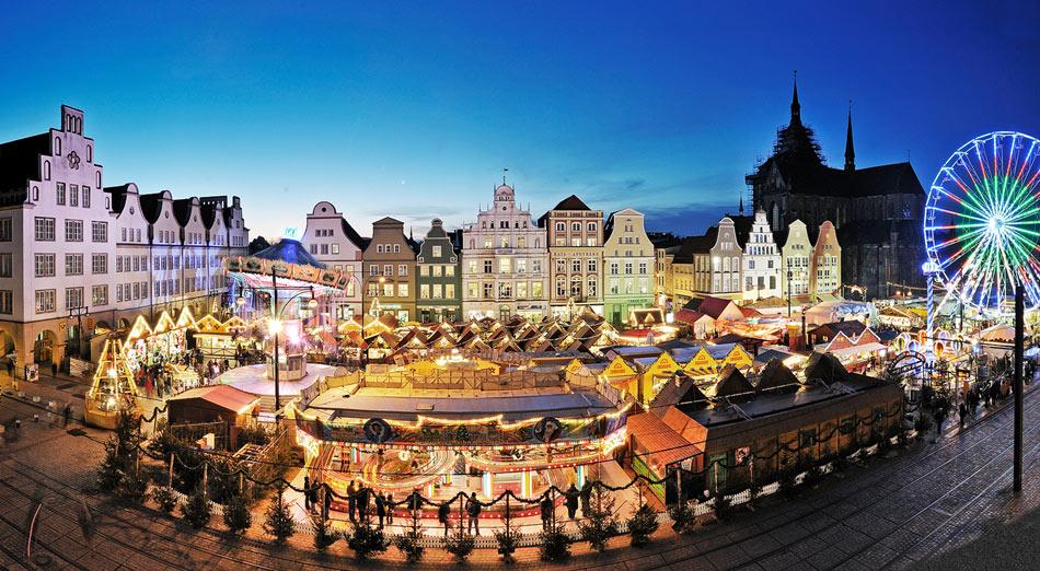 Weihnachtsmärkte im Deutschen Küstenland - Rostock / Copyright: Deutsches Küstenland e.V.