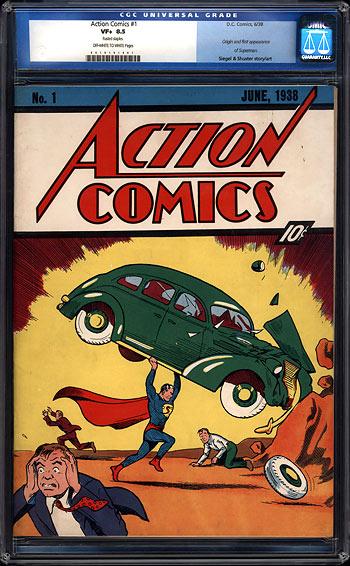 1,5 Mio. Dollar Comic: Action Comics 1