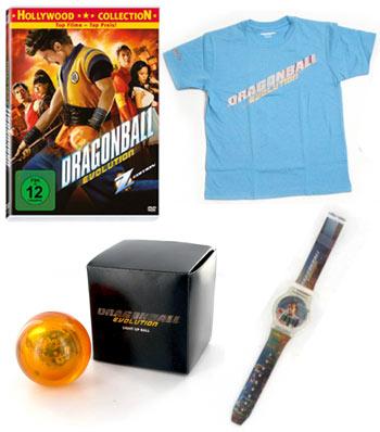 T-Shirt, Light Ball, Uhr und DVD