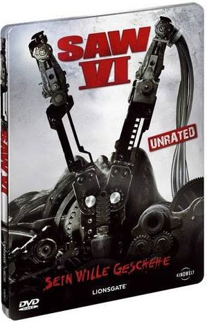 Saw 6Unrated Steelbook Edition