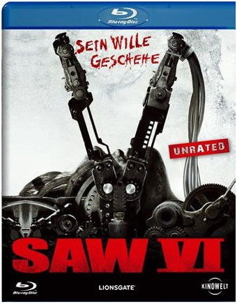 Saw 6 Unrated Blu-ray