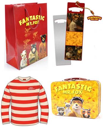 Lesezeichen, Papiertasche, Lunchbox und Kinder-Shirt