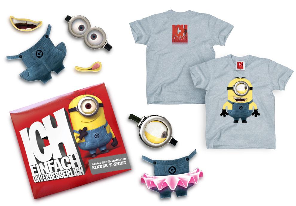 Make-a-Minion-Kindershirt