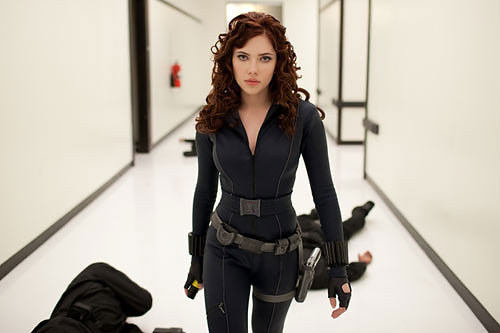 """Scarlett Johansson als Black Widow in """"Iron Man 2"""""""