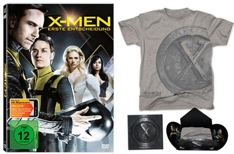 DVD und T-Shirt