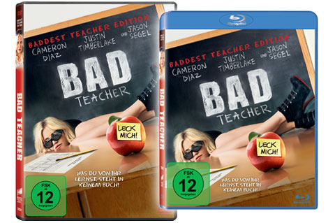 Bad Teacher DVD & Blu-ray