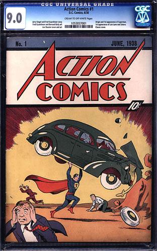 Rekord-Exemplar: Action Comics 1
