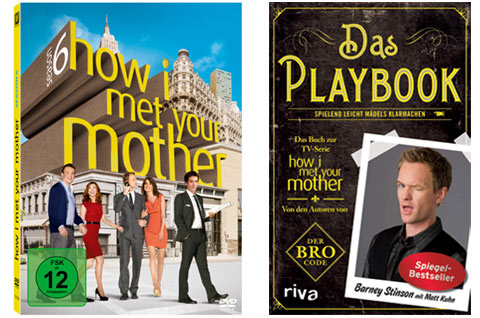 How I met your Mother DVD-Box & Playbook