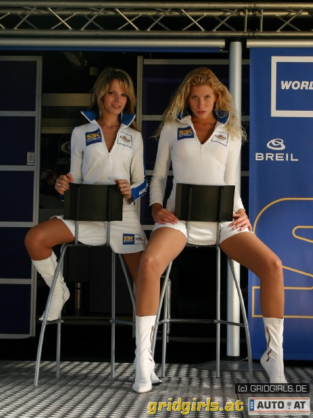 Motorrad Umbrella Girls 2006 Gridgirls At Auto At