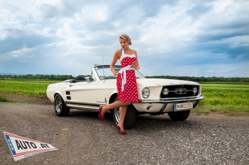 mustang pin up - photo #26